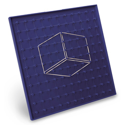 The Circletrig™ Geoboard - Blue
