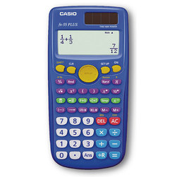 CASIO FX-55 Plus Scientific Calculators Teacher Kit