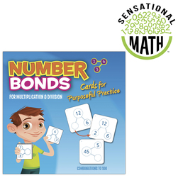Sensational Math NumberBond Activity Cards, Multiplication/Division