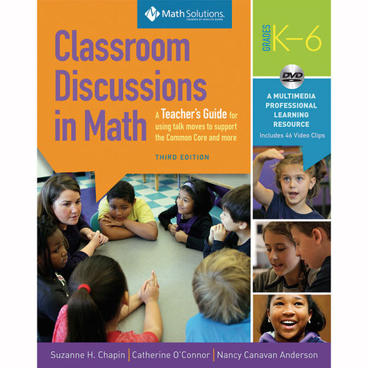 Classroom Discussions in Math Book & DVD