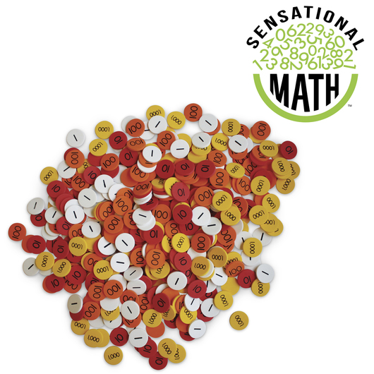 Sensational Math™ Place Value Discs - Small Group Set