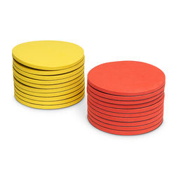 Jumbo 2-Color Magnetic Foam Counters