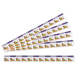 Ezy Color-Coded 12 in. Fraction Ruler