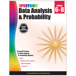 Spectrum® Data Analysis & Probability Workbook