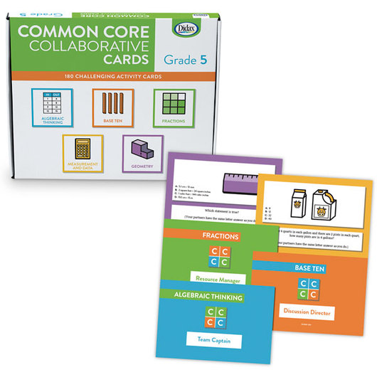 Common Core Collaborative Cards - Grade 5
