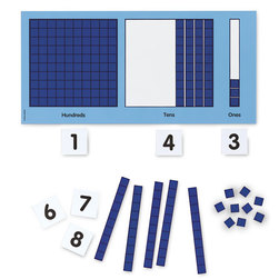 Magnetic Base 10 Place Value Set
