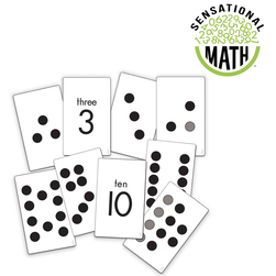 Sensational Math Subitizing Cards - Knowing How Many Without Counting