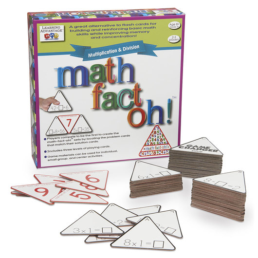 Math-Fact-Oh!™: Multiplication and Division