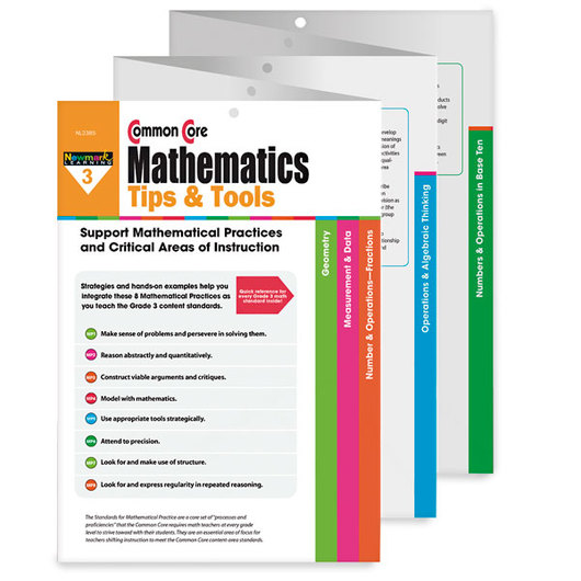 Common Core Mathematics Tips & Tools Grade 3