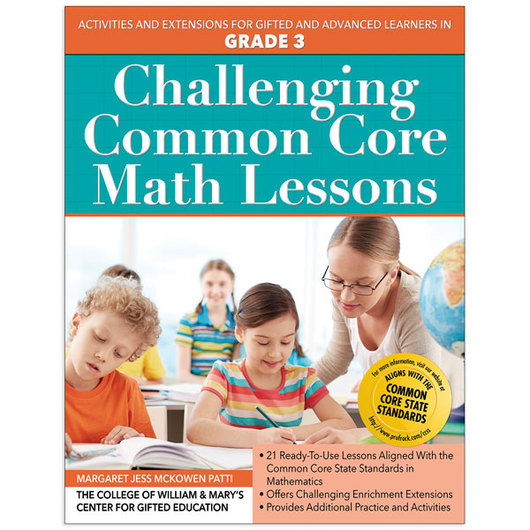 Challenging Common Core Math Lessons - Gr. 3