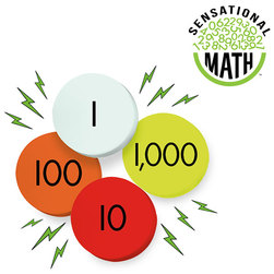 Sensational Math Jumbo Magnetic Place Value Discs