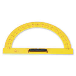 Chalk/Dry-Erase Board Magnetic Protractor