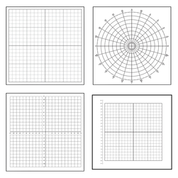 LowTac Peel and Stick Graph Grids