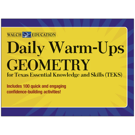 Daily Warm-Ups for TEKS - Geometry