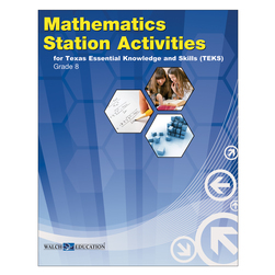 Station Activities for TEKS - Grade 8