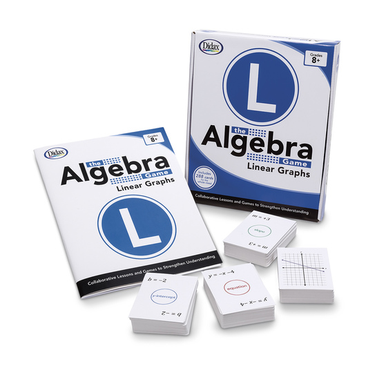 The Algebra Game - Linear Graphs Card Set