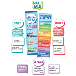 Math Talk Mini Board Set