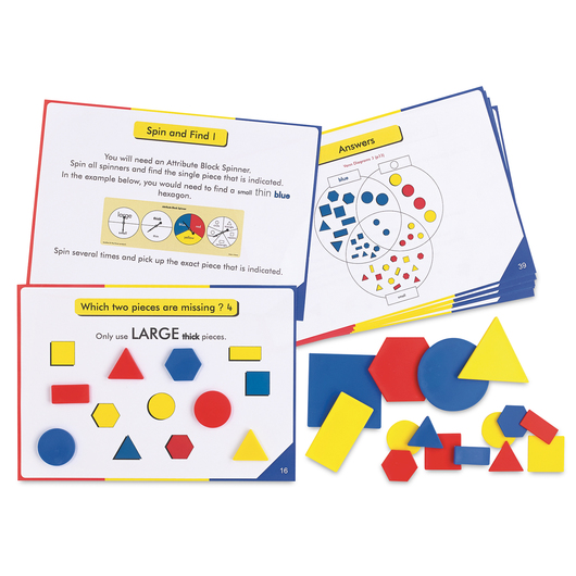 Attribute Blocks Activity Cards