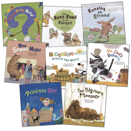 Math Storybooks - Set of 8