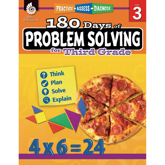180 Days Of Problem Solving - Grade 3