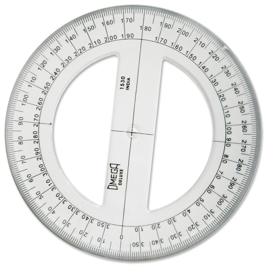 Circular Protractor - 6 in. dia.