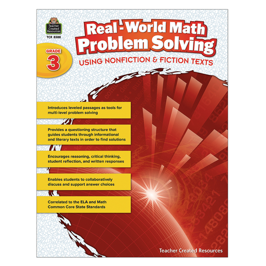 Real-World Math Problem Solving Book - Grade 3