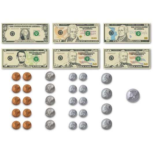 Magnetic Money Accents - 42 Pieces