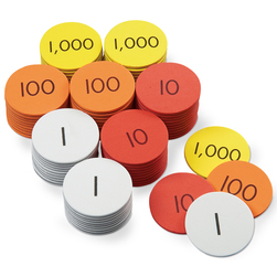 Nasco Place Value Disc Complete Classroom Set