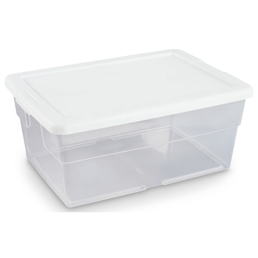 Mobile Math Cart Storage Container - 16-3/4 in. x 11-7/8 in. x 7 in.