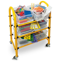 Nasco Mobile Math Cart for Grades 35