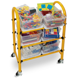 Nasco Mobile Math Cart, Complete Cart Set