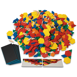 Pattern Blocks Kit, Pattern Blocks Kit