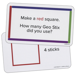 Nasco Geo Stix Activity Cards