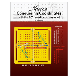 Nasco's Conquering Coordinates with the XY Coordinate Geoboard