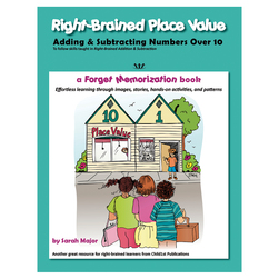 Right-Brained Place Value Book