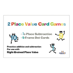 Right-Brained Place Value Adding 1's - 4-1/4 in. x 2-3/4 in.