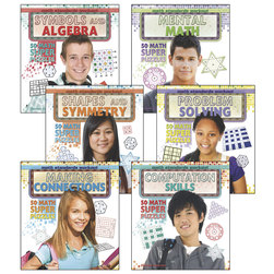 Math Standards Workout Books - Set of 6