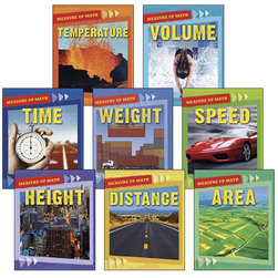 Measure Up Math Books - Set of 8