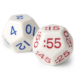 Elapsed Time Dice, Nighttime PM Set