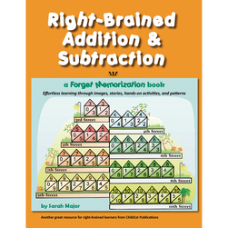 Right-Brained Addition & Subtraction Book
