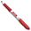 BIC® Great Erase Grip Dry-Erase Markers - Bullet Tip - Box of 12 - Red