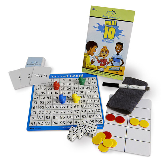 Nasco Math MileMarkers® Make 10 Individual Game Set