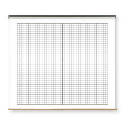 Pull-Down Dry-Erase Charts - XY Axis