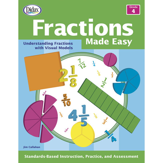 Fractions Made Easy - Grade 4