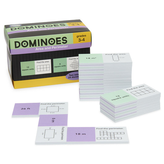 Area and Perimeter Dominoes