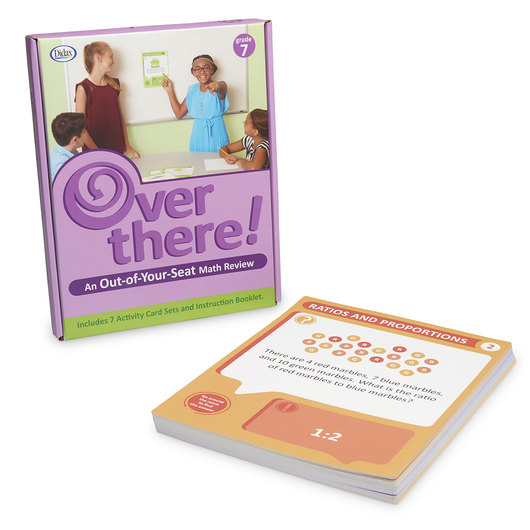 Over There! - An Out-of-Your Seat Math Review - Grade 7