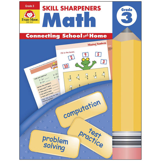 Skill Sharpeners: Math - Grade 3