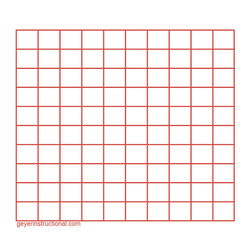 Graphing Post-It® Notes - 10 in. x 10 in. Total Grid Size - Set of 4