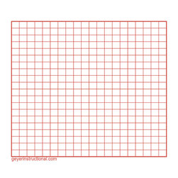 Graphing Post-It® Notes - 20 in. x 20 in. Total Grid Size - Set of 4