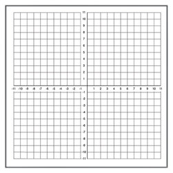 Dry-Erase Graph Magnet - Numbered